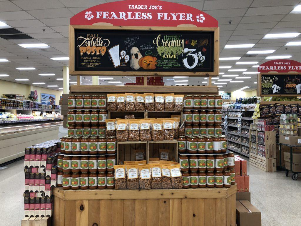 fall new products at Trader Joe's
